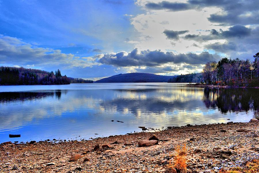 Water Photograph - The Lake by Dave Woodbridge