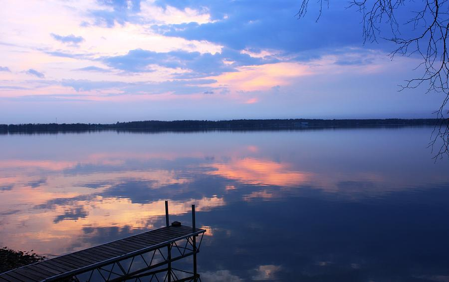Lake Mirror Photograph - The Lake Is A Mirror by Pat Purdy