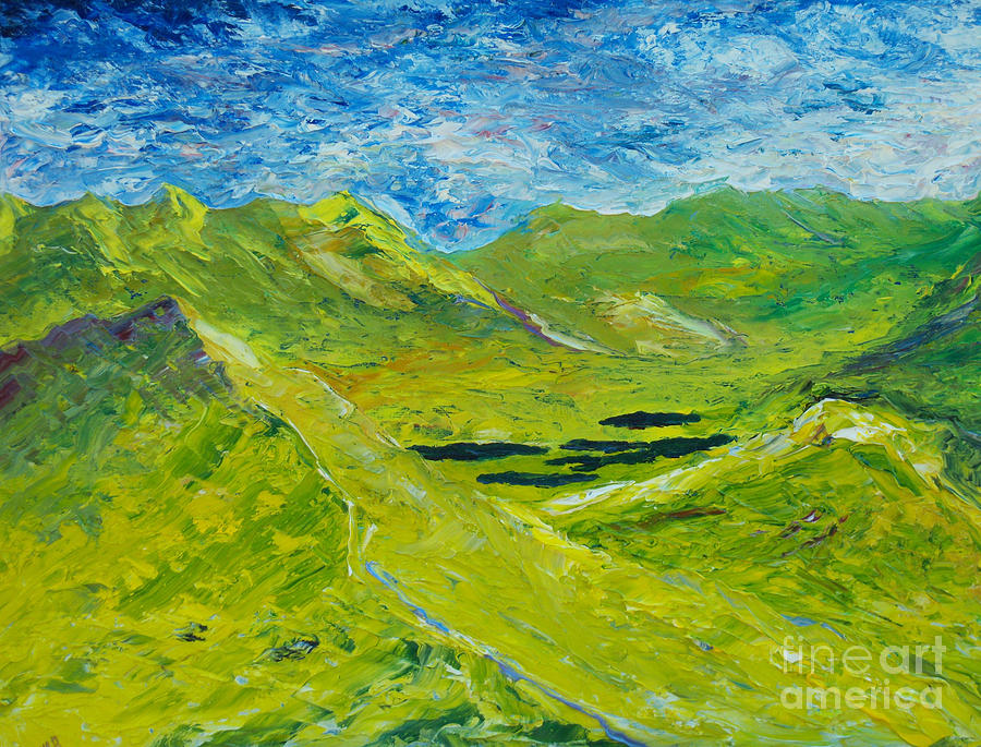 The lakes of Killarney  Original SOLD by Conor Murphy