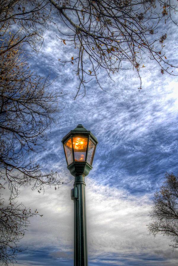 Estes Park Photograph - The Lamp Post by G Wigler