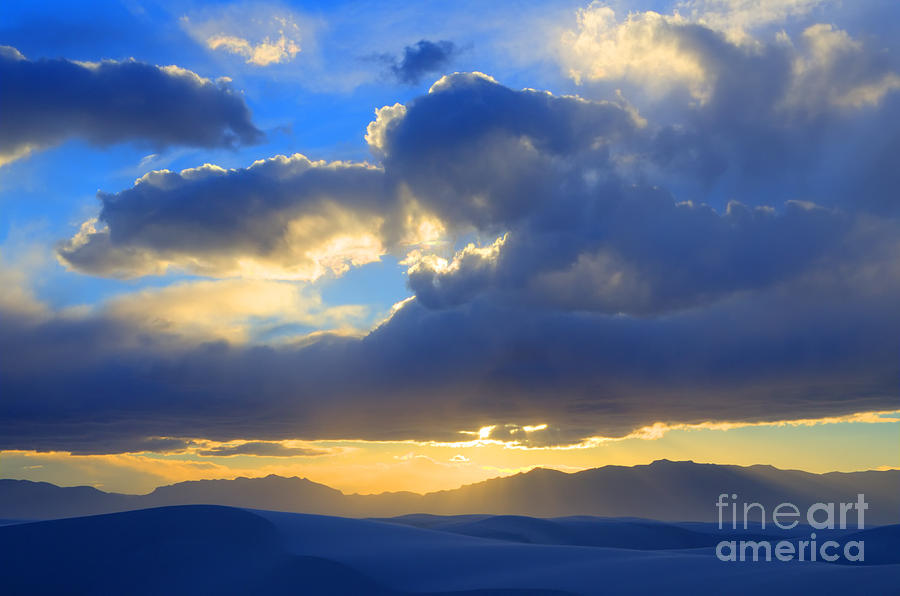 Alamogordo Photograph - The Land Of Enchantment by Bob Christopher