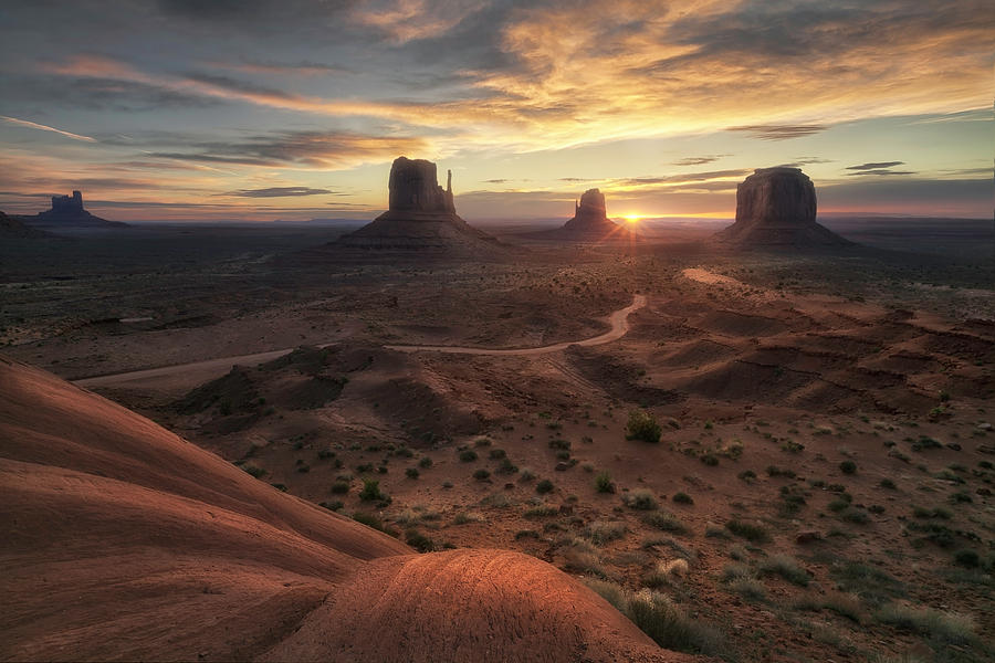 Arizona Photograph - The Landscape Of My Dreams by Fiorenzo Carozzi