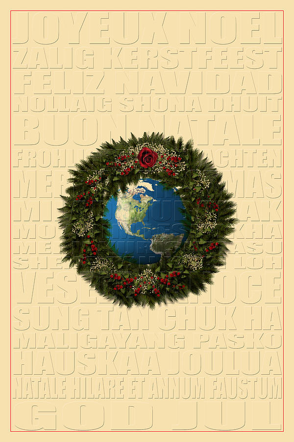 Xmas Photograph - The Language Of Christmas 2 by Andrew Fare