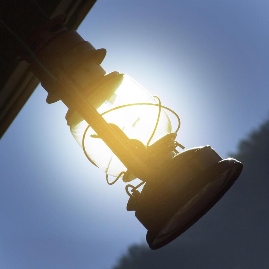 Lantern Light Photograph - The Lantern by Mike McGlothlen