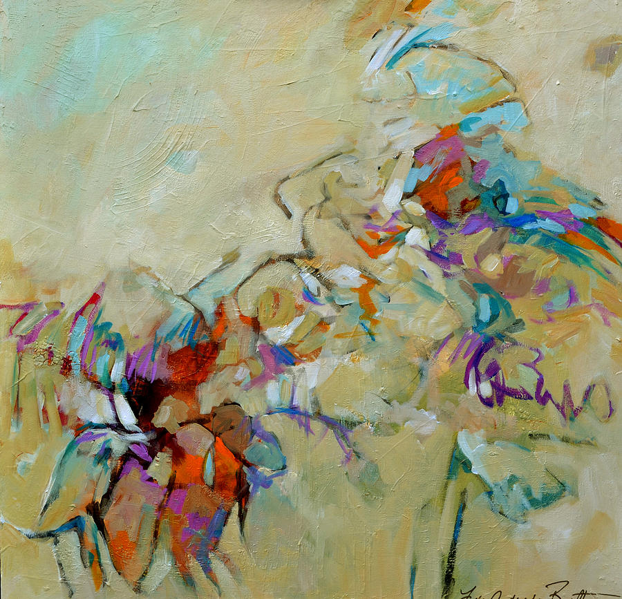 Abstract Painting - The Last Day Of Summer by Filomena Booth