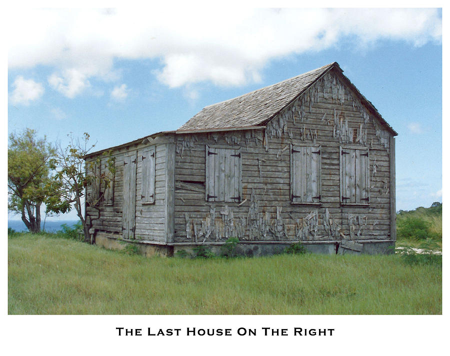 Houses Photograph - The Last House On The Right by Lorenzo Laiken