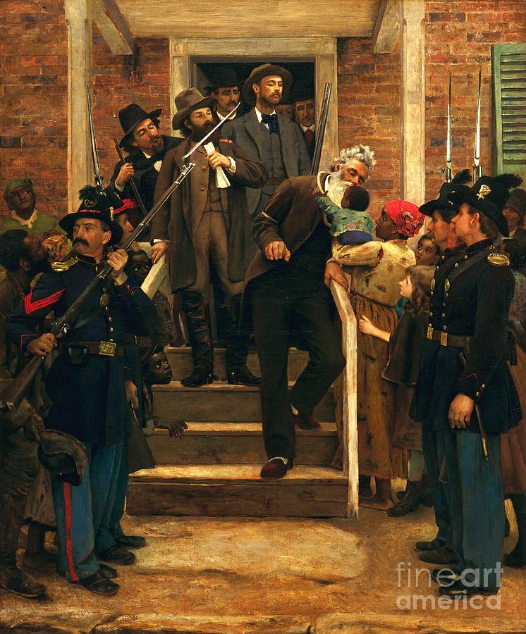 Pd Painting - The Last Moments Of John Brown by Pg Reproductions