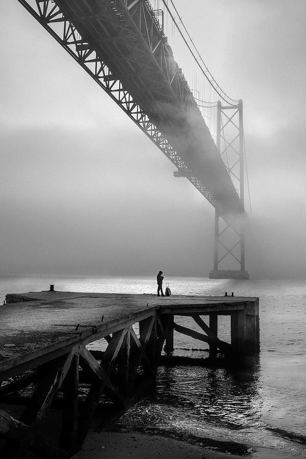 Lisbon Photograph - The Last Passenger! by Fernando Jorge Gon?alves