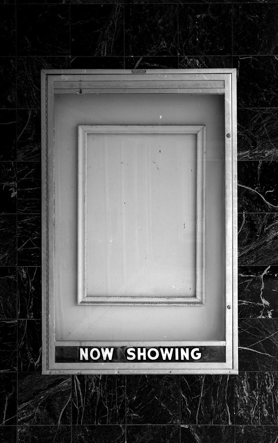 Movies Photograph - The Last Picture Show by Vince  Risner