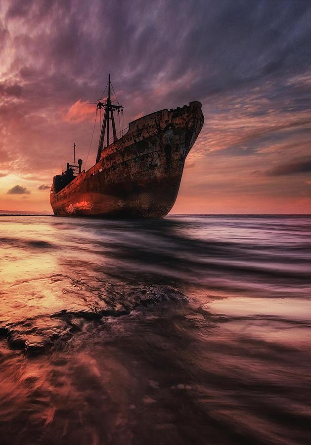 Landscape Photograph - The Last Port by