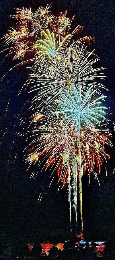 Fireworks Photograph - The Last Shot... by Daniel Thompson