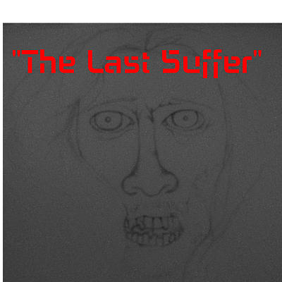 The Last Suffer Sketch Of Jesus As A Zombie Drawing by Benita Solomon