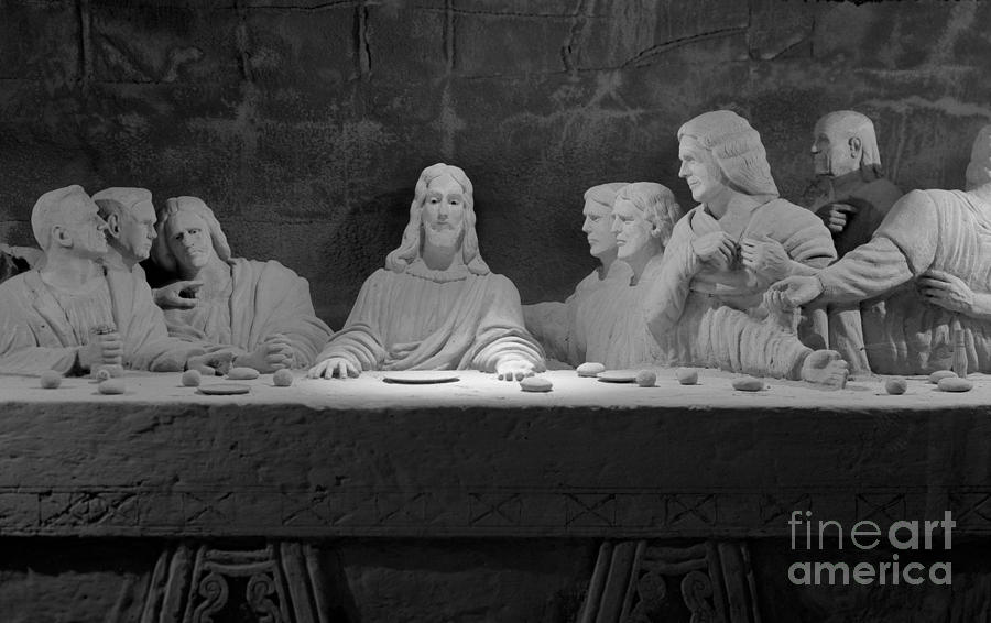 Christ Photograph - The Last Supper by David Ricketts