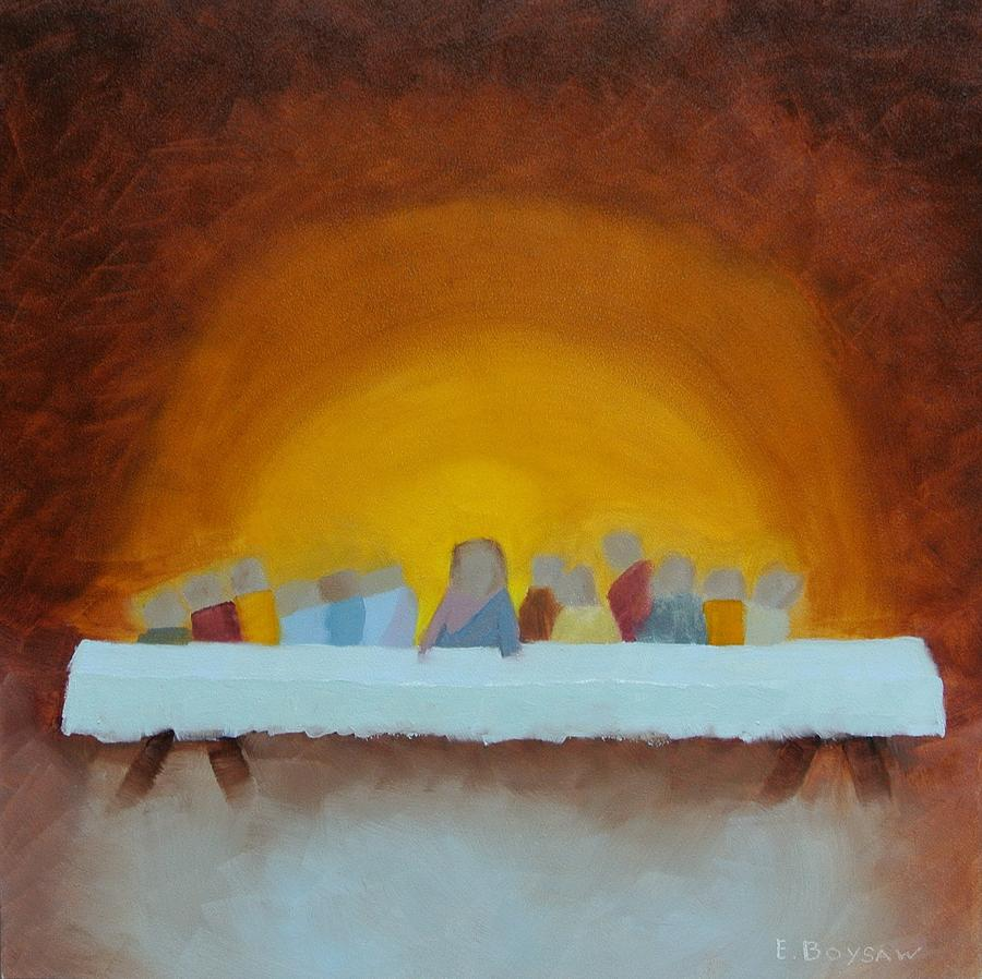 The Last Supper Painting by Elise Boysaw