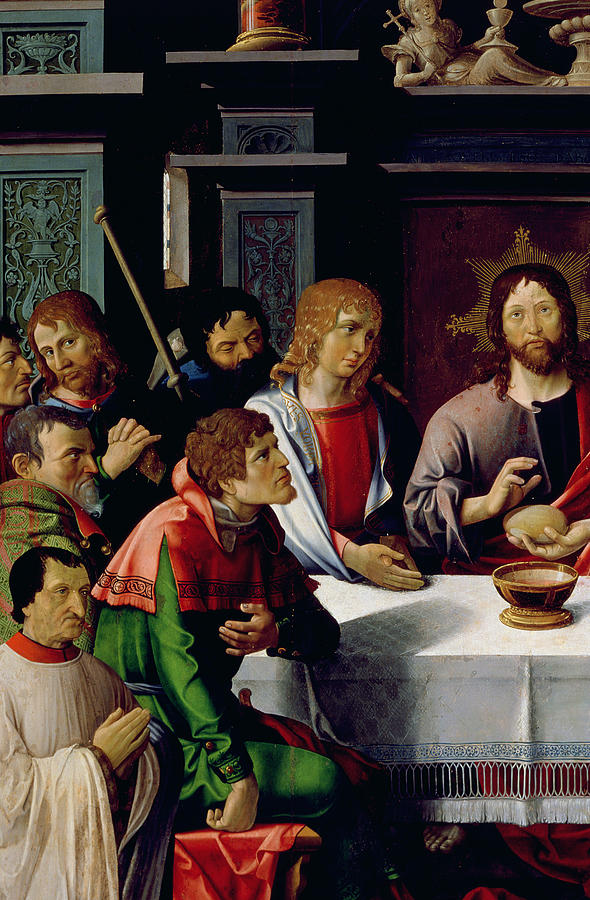 The Last Supper Painting - The Last Supper by French School