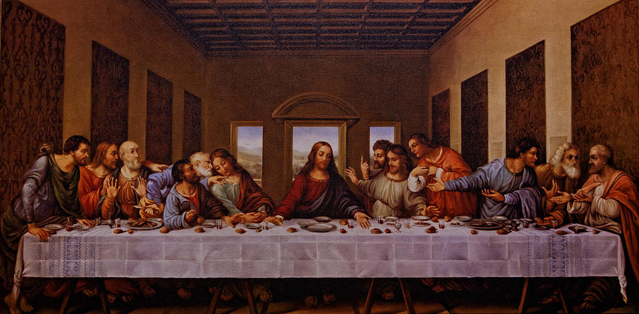 The Last Supper Photograph - The Last Supper by Jonathan Davison