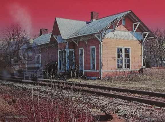 Steam Locomotive Photograph - The Last Train by Dick Hollon