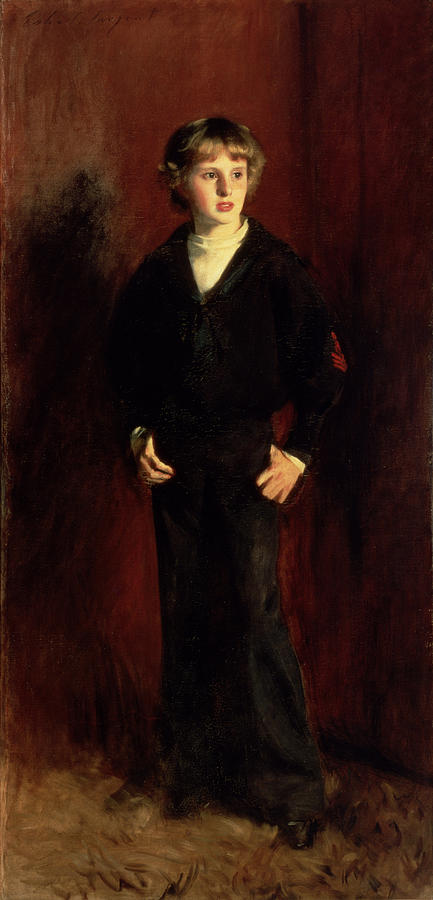 Youth Painting - The Late Major E.c. Harrison As A Boy by John Singer Sargent