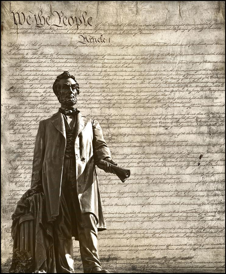 We The People Photograph - The Law by Dan Sproul