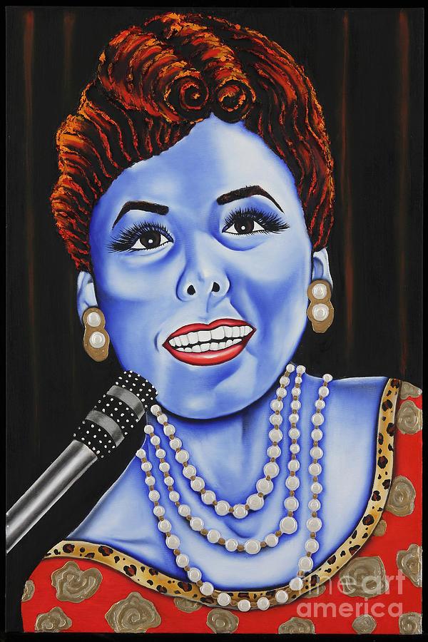 Portrait Painting - The Lena Horne by Nannette Harris