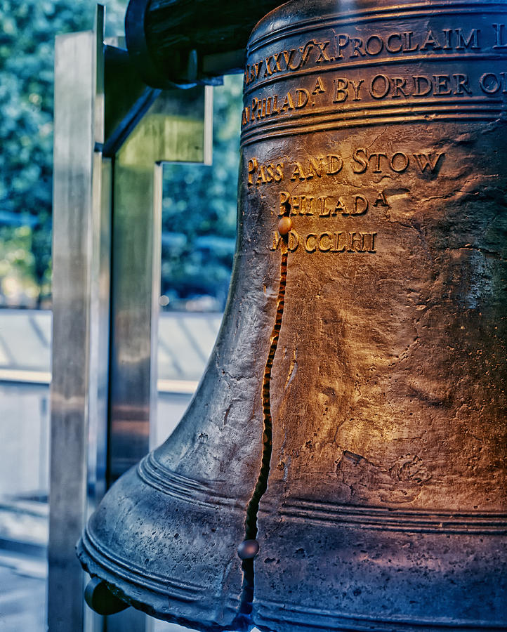 The Liberty Bell Photograph - The Liberty Bell In Philadelphia by Mountain Dreams