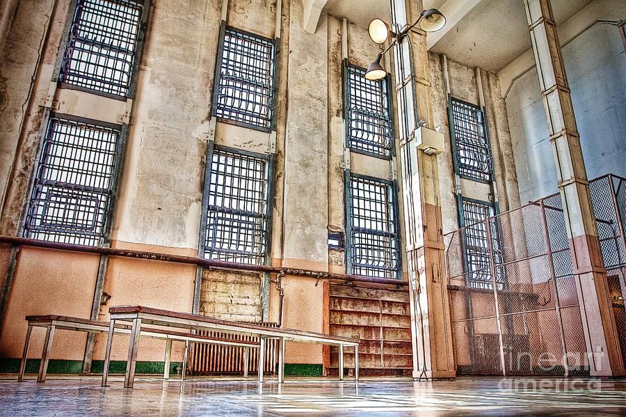 Alcatraz Photograph - The Library by Andrew Brooks