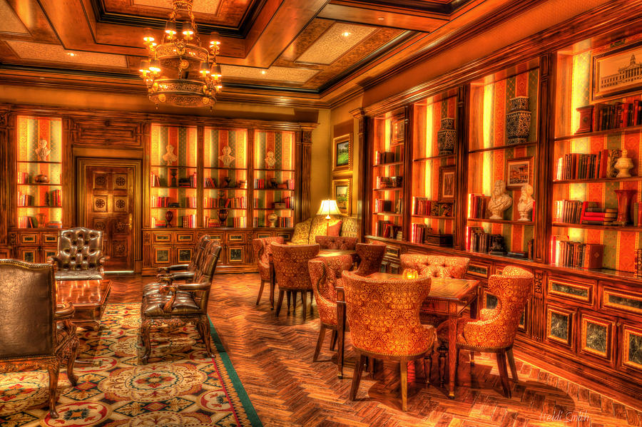 Architecture Photograph - The Library by Heidi Smith