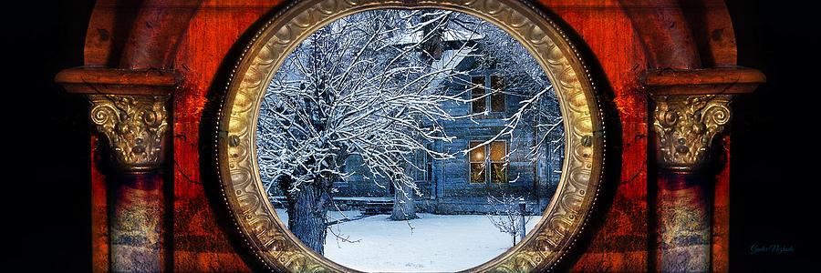 Aged Photograph - The Light In The Window by Gunter Nezhoda