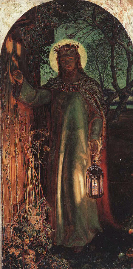 Holman Painting - The Light Of The World by Philip Ralley