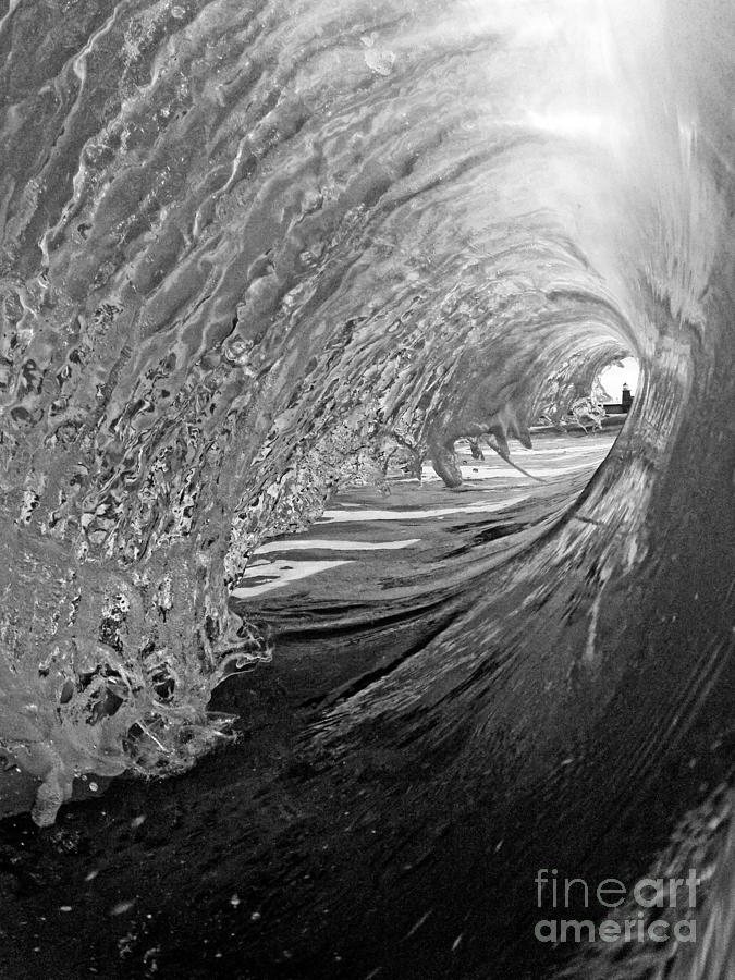 Santa Cruz Photograph - The Lighthouse At The End Of The Tunnel by Paul Topp