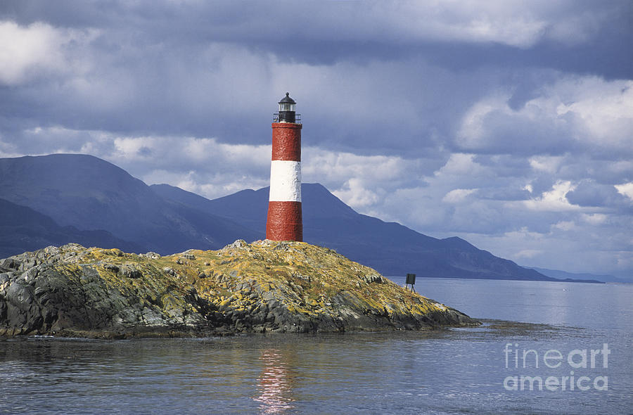 Lighthouse Photograph - The Lighthouse At The End Of The World by James Brunker