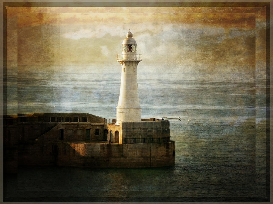 Lighthouse Photograph - The Lighthouse by Lucinda Walter