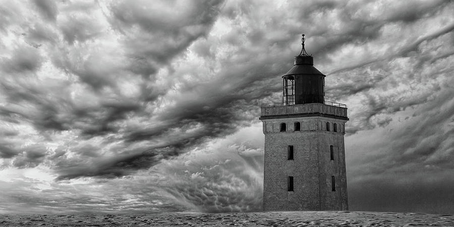 Lighthouse Photograph - The Lighthouse Mood. by Leif L?ndal