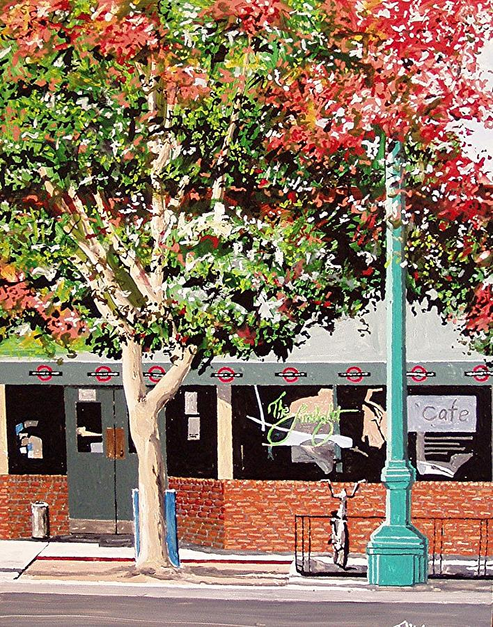 Sacramento Painting - The Limelight by Paul Guyer