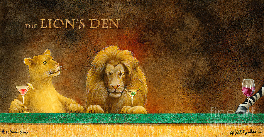 Will Bullis Painting - The Lions Den... by Will Bullas
