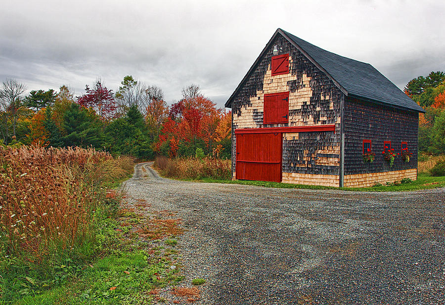 Architecture Photograph - The Little Barn by Marcia Colelli