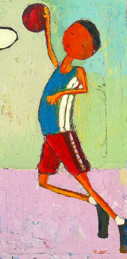 Abstract Painting - The Little Champion by Habib Ayat