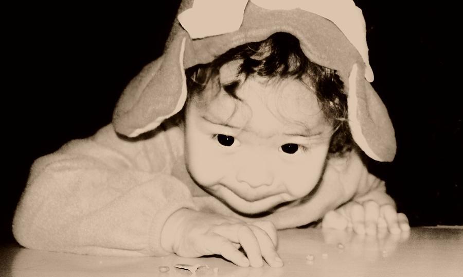 Children Photograph - The Little Gremlin by Jessica Shelton