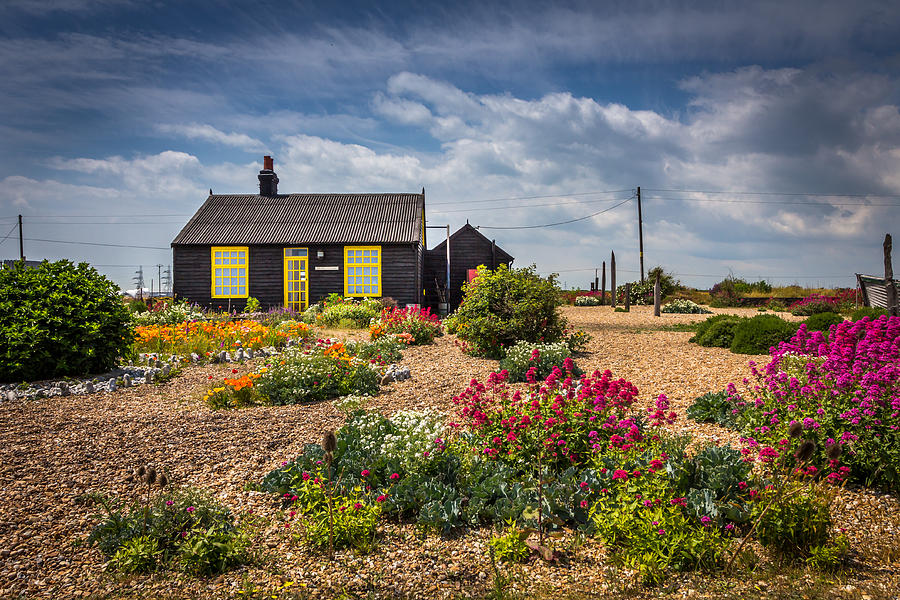 House Photograph - The Little House. by Gary Gillette