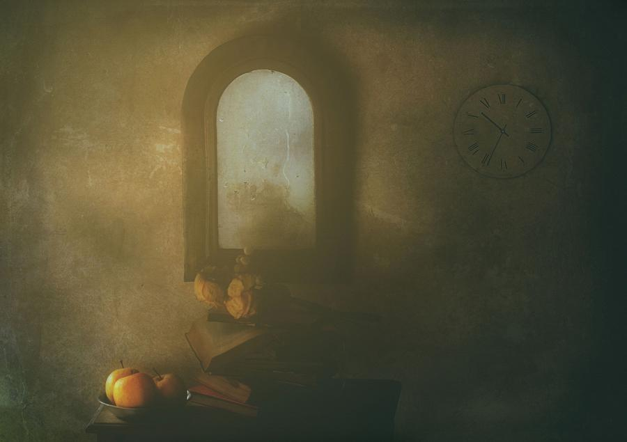 Still Life Photograph - The Living Room by Delphine Devos