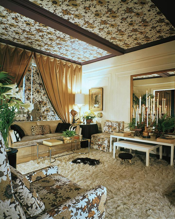 The Living Room Of Leoda De Mars Home Photograph by Wiliam Grigsby