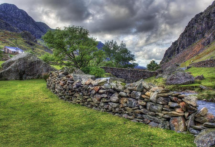 Llanberis Photograph - The Llanberis Pass by Ian Mitchell
