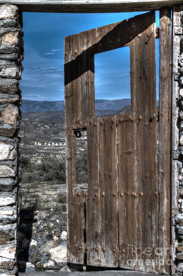 Door Photograph - The Lockless Door by Heiko Koehrer-Wagner