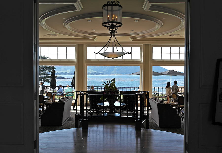 The Lodge At Pebble Beach by Michele Myers