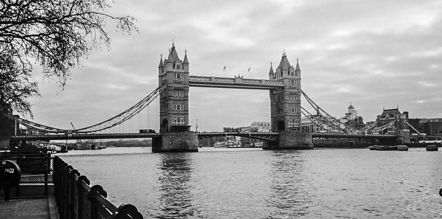 Bridge Photograph - The London Bridge  by Steven  Taylor