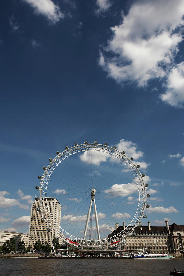 the london eye the big ferris wheel photograph by kennet havgaard