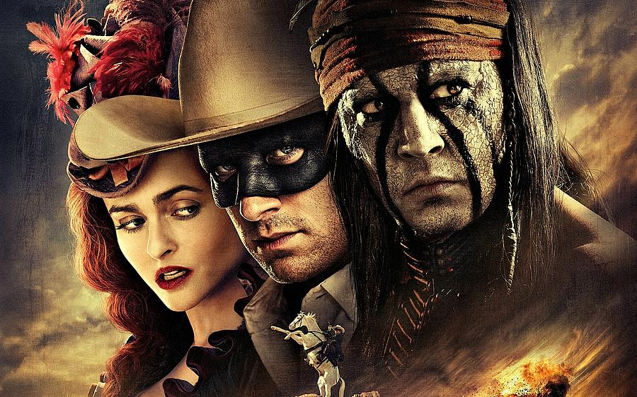 The Lone Ranger Digital Art - The Lone Ranger by Movie Poster Prints