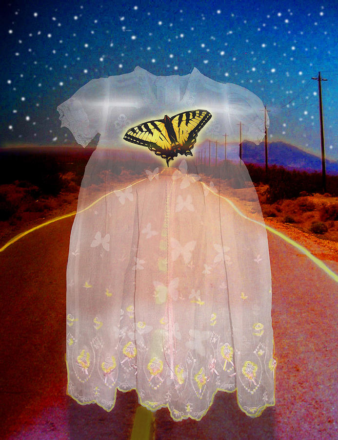 Surrealism Digital Art - The Long Highway by Larry Butterworth