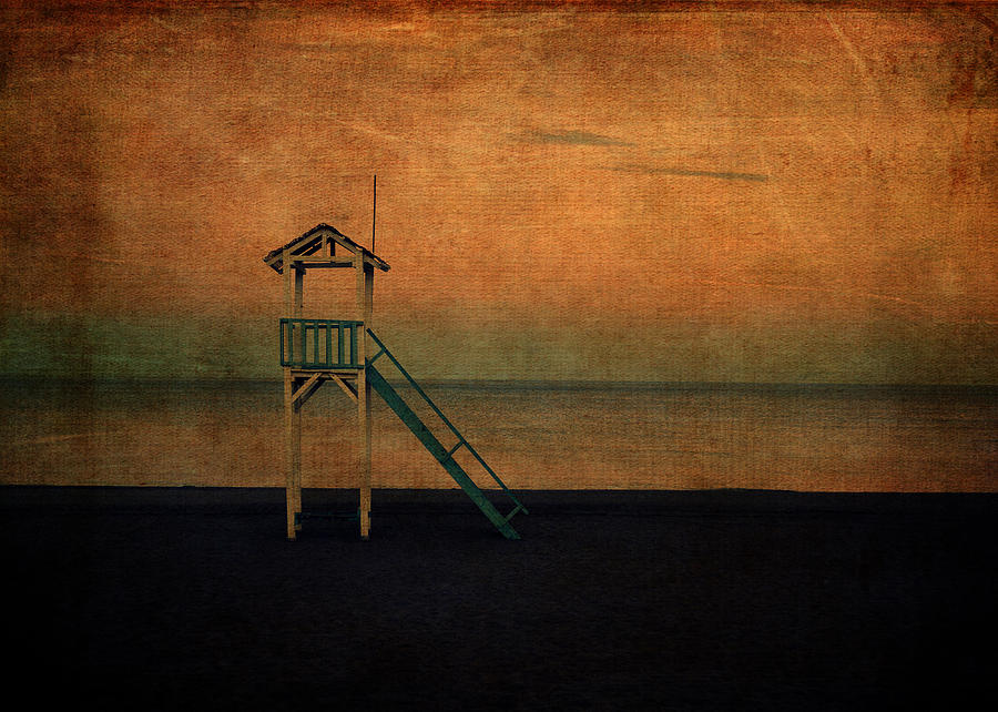 Sand Digital Art - The Lookout by Sarah Vernon