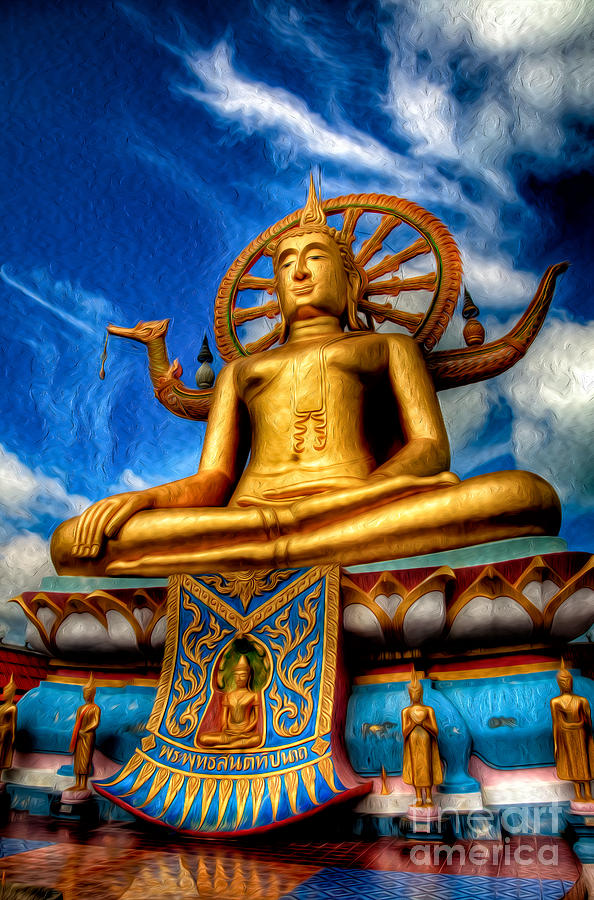 the lord buddha photograph by adrian evans